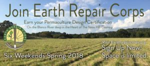 Permaculture Design Certificate Earth Repair Corps Texas
