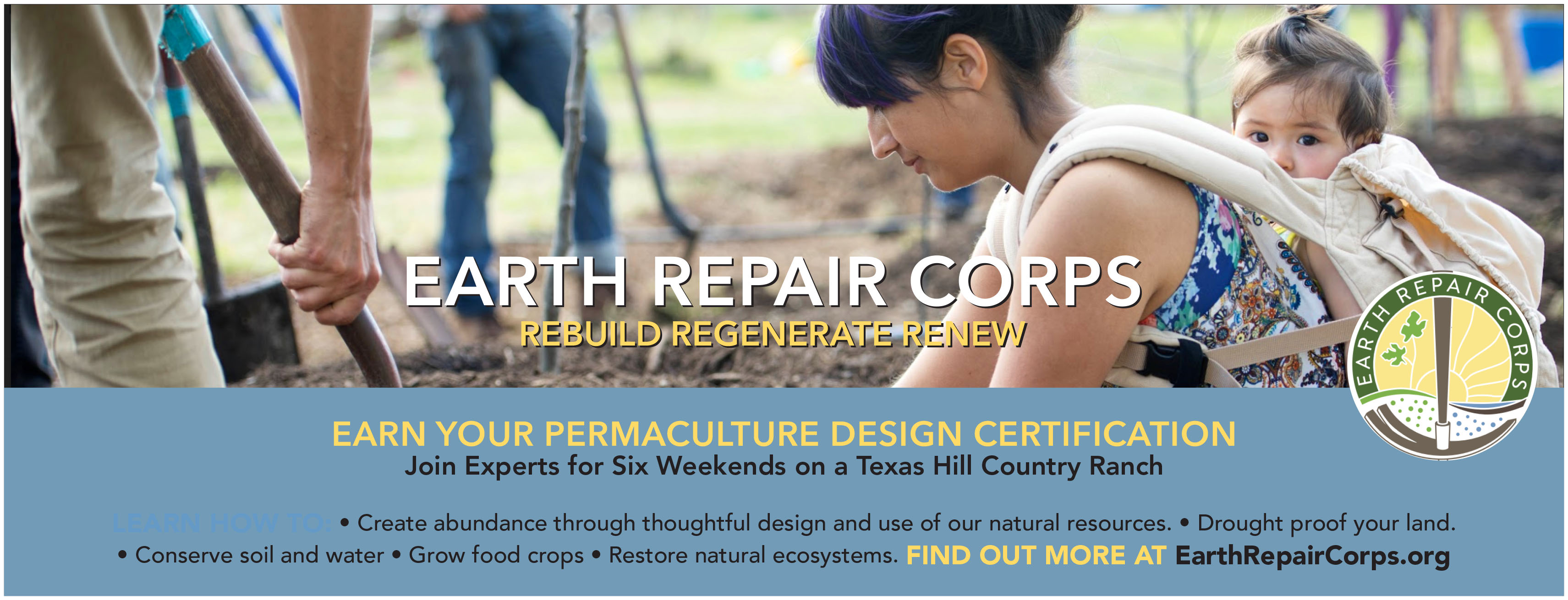 Permaculture Design Course Winterspring 2019 Earth Repair Corps